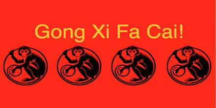 We wish all the very best in this the lunar new year