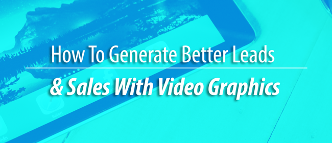 video graphic sales