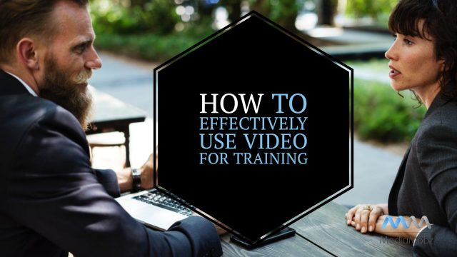 use video for training